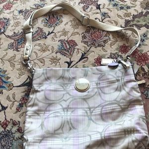Large coach Crossbody